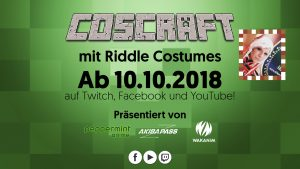 Coscraft mit Riddle Costumes