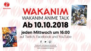 (LIVE) Wakanim Anime Talk #011