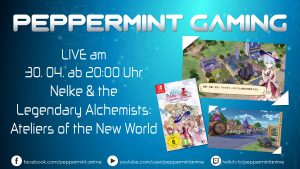 (LIVE) peppermint gaming - Nelke & the Legendary Alchemists: Ateliers of the New World